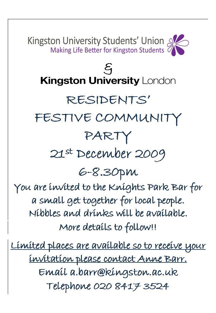 SGRA Kingston News